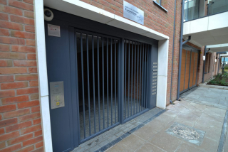 INDUSTRIAL STEEL GATES AND MAIL BOX FABRICATED TO LPS1175 SR2 AND PAS24 STANDARD. PRODUCED AND INSTALLED BY PREMIER SECURITY CONSULTANTS LTD.