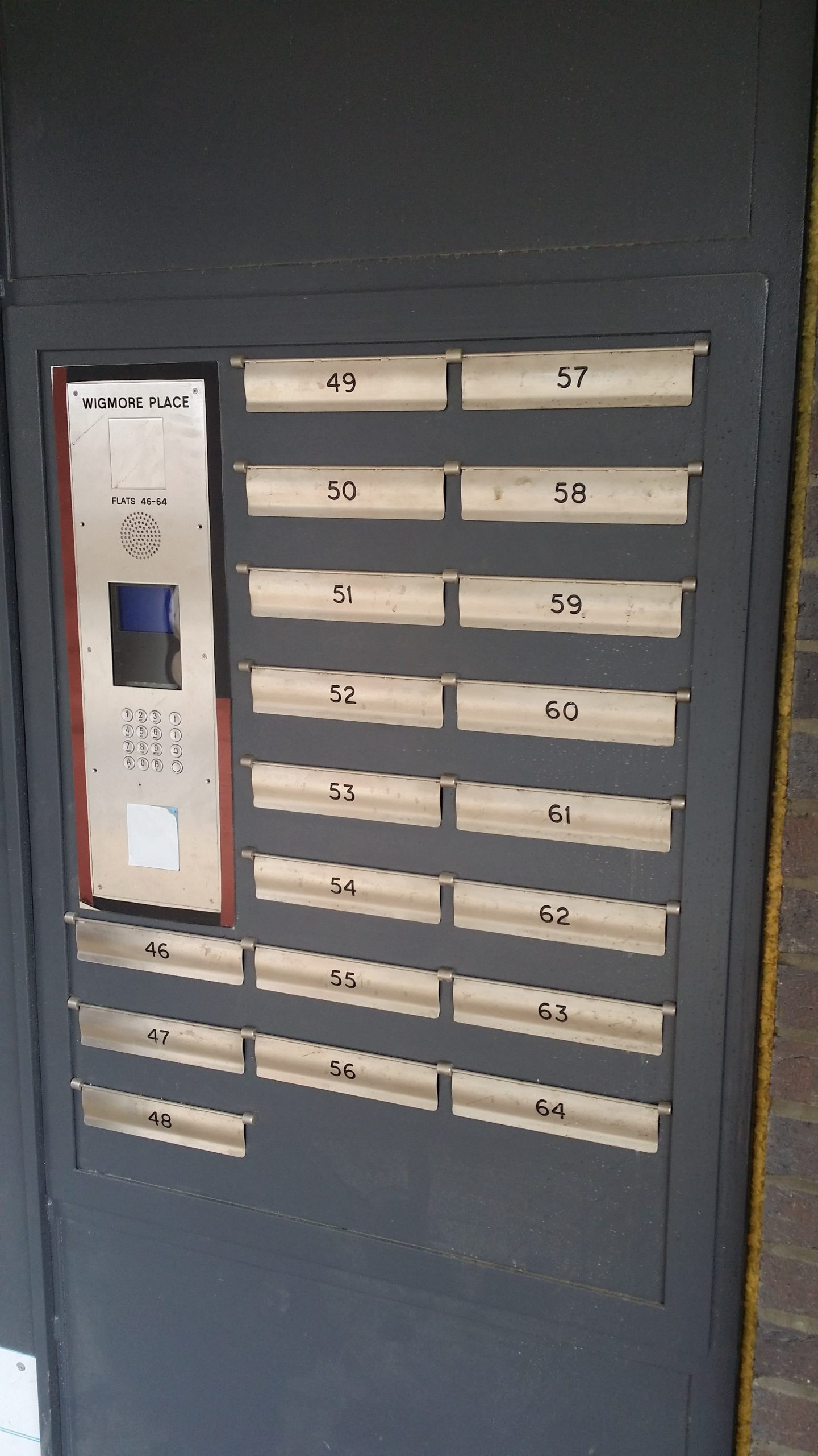 INTEGRATED STEEL SECURITY MAILBOX SYSTEM WITH SECURED BY DESIGN CERTIFICATION.