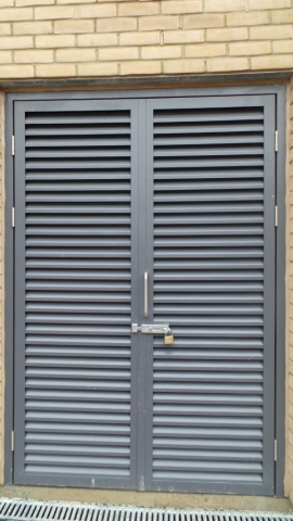INDUSTRIAL STEEL DOORS FABRICATED TO LPS1175 SR2 AND PAS24 STANDARD. PRODUCED AND INSTALLED BY PREMIER SECURITY CONSULTANTS.