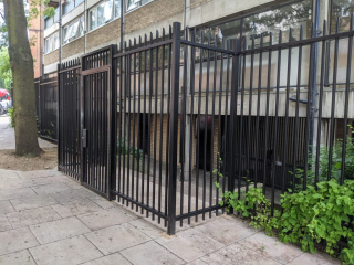 Secured by Design steel security gate and fencing LPS1175 SR2