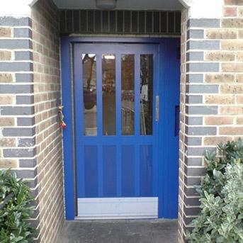 SINGLE LPS1175 SR2 STEEL DOOR WITH SECURED BY DESIGN CERTIFICATION