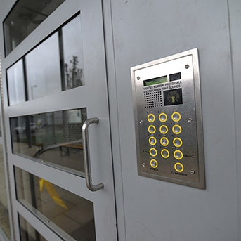 ACCESS CONTROLLED SECURED BY DESIGN COMMUNAL ENTRANCE DOORS