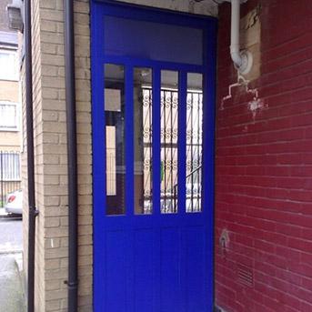 SBD LPS1175 SR2 STEEL DOOR SET