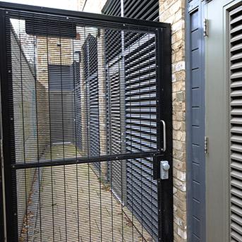 STEEL MESH GATE INSTALLED IN LONDON