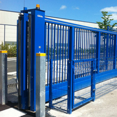 AUTOMATED INDUSTRIAL STEEL GATES
