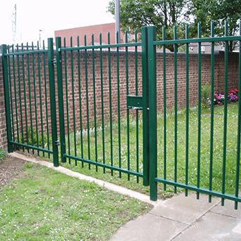 PEDESTRIAN STEEL GATES