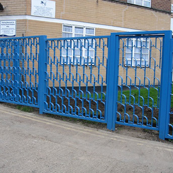 HIGH SECURITY STEEL GATES INSTALLED IN LONDON