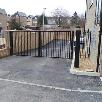 VEHICLE ACCESS STEEL GATES