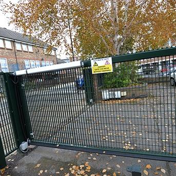STEEL MESH GATES INSTALLED IN ESSEX