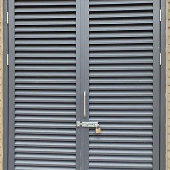 STEEL LOUVER DOORS. SECURED BY DESIGN. PAS24 LPS1175 SR3